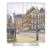 Queen Annes Gate Oil On Canvas Shower Curtain
