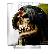 10007 Queen Astra Of Arkonia Shower Curtain