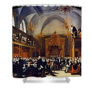 Queen Caroline Trial, 1820 Shower Curtain