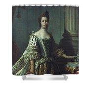 Queen Charlotte (1744-1818) Shower Curtain
