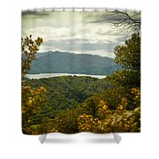 Queen Charlotte Sound Shower Curtain