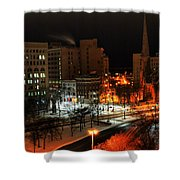 Queen City Winter Wonderland After The Storm Series 0015 Shower Curtain