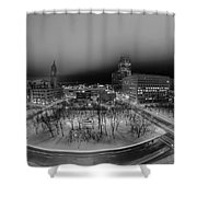 Queen City Winter Wonderland After The Storm Series 0019 Shower Curtain