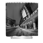 Queen City Winter Wonderland After The Storm Series 0023a Shower Curtain