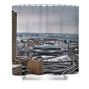 Queen City Winter Wonderland After The Storm Series 0025 Shower Curtain