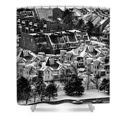 Queen City Winter Wonderland After The Storm Series 0028a Shower Curtain