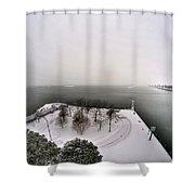 Queen City Winter Wonderland After The Storm Series 0034 Shower Curtain