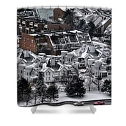 Queen City Winter Wonderland After The Storm Series0028 Shower Curtain