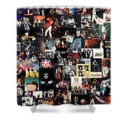 Queen Collage Shower Curtain
