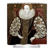 Queen Elizabeth I (1533-1603) Shower Curtain