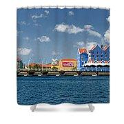 Queen Emma Bridge Open Curacao Shower Curtain