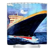 Queen Mary 2 Shower Curtain