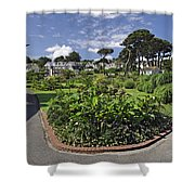 Queen Mary Gardens - Falmouth Shower Curtain