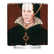 Queen Mary I Of England Shower Curtain