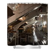 Queen Mary Sun Deck Shower Curtain