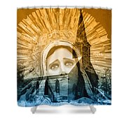 Queen Of Angels Shower Curtain
