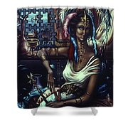Queen Of Atlantis Shower Curtain