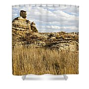 Queen Of Isalo  Madagascar Shower Curtain