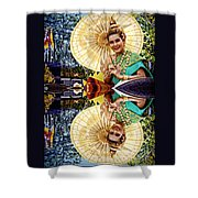 Queen Of Reflections Shower Curtain