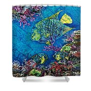 Queen Of The Sea Shower Curtain