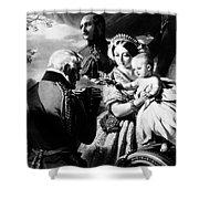 Queen Victoria & Son Shower Curtain