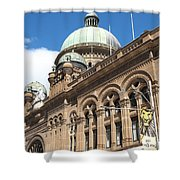 Queen Victoria Building Sydney Shower Curtain