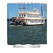 Queen Victoria Ferry Shower Curtain