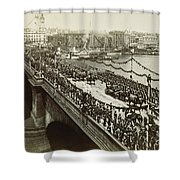 Queen Victoria In Carriage Shower Curtain