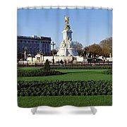 Queen Victoria Memorial At Buckingham Shower Curtain