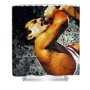 Queen We Will Rock You Shower Curtain