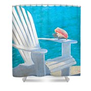 Queens Chair Shower Curtain