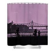 Queensboro Bridge 1 - Manhattan - New York Shower Curtain