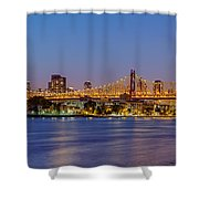 Queensboro Bridge 59th Street Nyc Shower Curtain