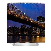Queensboro Bridge Shower Curtain