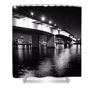 Queensway Bridge Shower Curtain