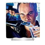 Quentin Tarantino Artwork 1 Shower Curtain