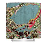 Quest For The Maharaja's Ruby Shower Curtain