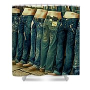 Queued Selling It Shower Curtain