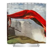 Qui Vive Shower Curtain