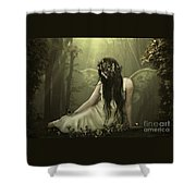 Quiescence Shower Curtain