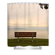 Quiet Afternoon Shower Curtain