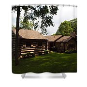 Quiet Cabin On A Hill Shower Curtain