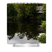Quiet Lake In The Berkshires Shower Curtain