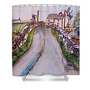 Quiet Man Bridge Shower Curtain