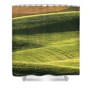 Quiet Morning In The Palouse  Shower Curtain