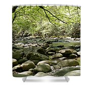 Quiet Place In The Smokies Shower Curtain