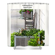 Quiet Resting Places Shower Curtain