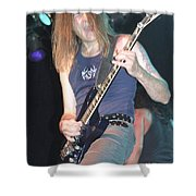 Quiet Riot - Carlos Cavazo Shower Curtain
