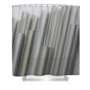 Quiet Strength -  Abstract Art Shower Curtain