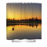 Quiet Sunrise.. Shower Curtain